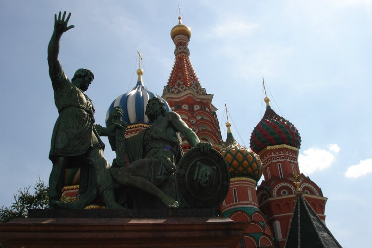 St Basil's Cathedral | Exploring Moscow with Kids
