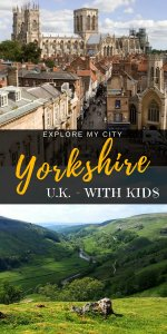 Yorkshire with kids - great travel ideas in England for families | #familytravel