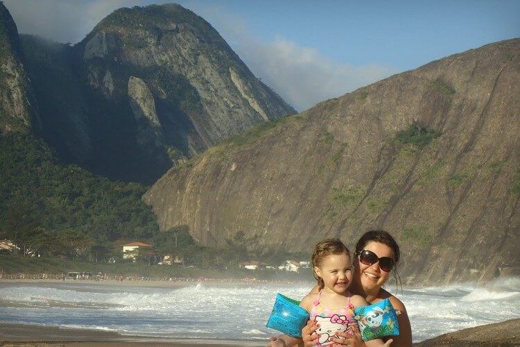 The coast line of Rio de Janeiro state is stunning - Explore My City Rio de Janeiro with Kids | Our Globetrotters Family Travel & Expat Blog