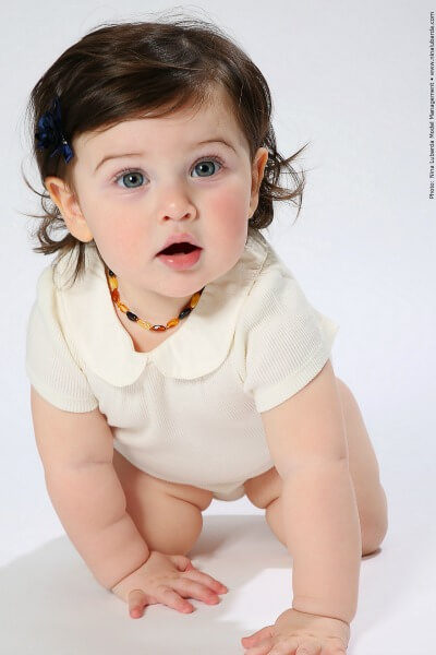 Baltic Amber necklaces can relieve distress in a teething baby