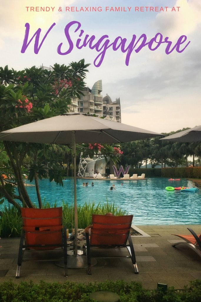 W Singapore perfect for a trendy family retreat on your next Singapore stopover to #Sentosa | Our Globetrotters