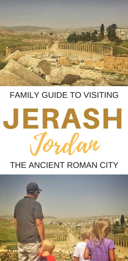 A family guide to visiting the ancient city of Jerash, Jordan