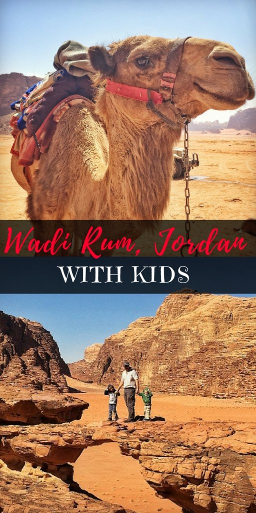 Complete guide to visiting Wadi Rum Jordan with kids | Our Globetrotters