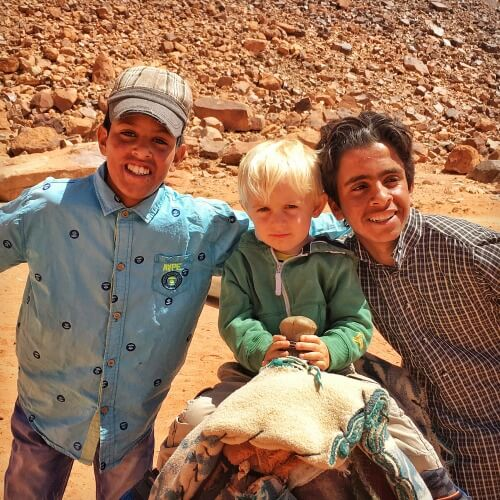 Explore Wadi Rum Jordan with Kids | Our Globetrotters
