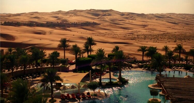 Anantara Qasr al Sarab Best desert resort in the UAE