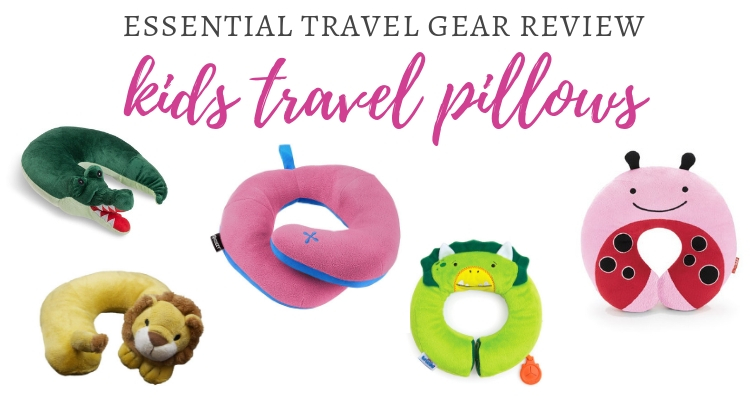 Travel Pillows for kids; Getting kids cosy on the move