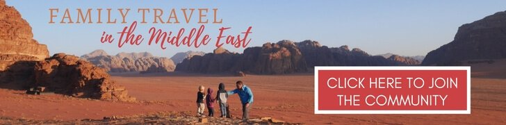 Middle East Travel with Kids made easy with Our Globetrotters Family Travel Community
