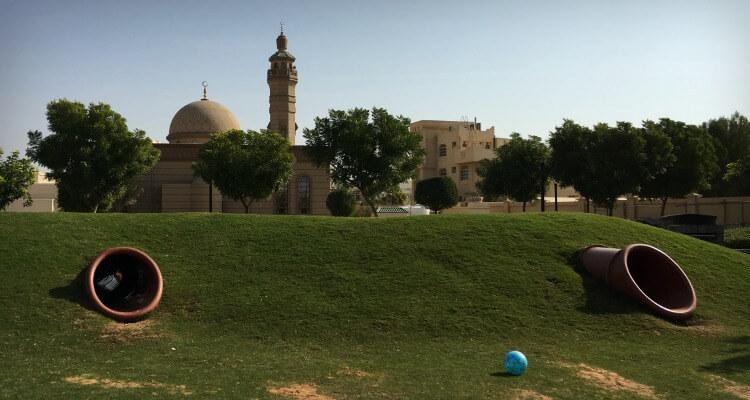 Khalifa City Hidden Parks   Our Globetrotters Family Travel & Expat Blog