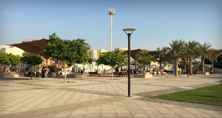 Khalifa City Hidden Parks | Our Globetrotters Family Travel & Expat Blog