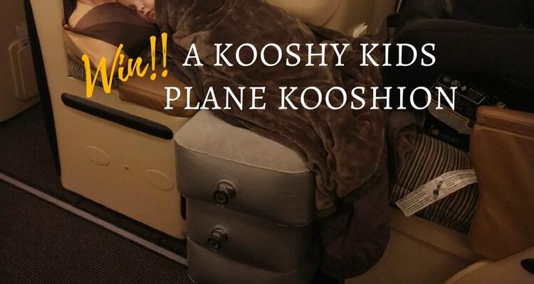 Win a Kooshy Kids Plane Kooshion | Review of the Kooshy Kids Kooshion product by Our Globetrotters