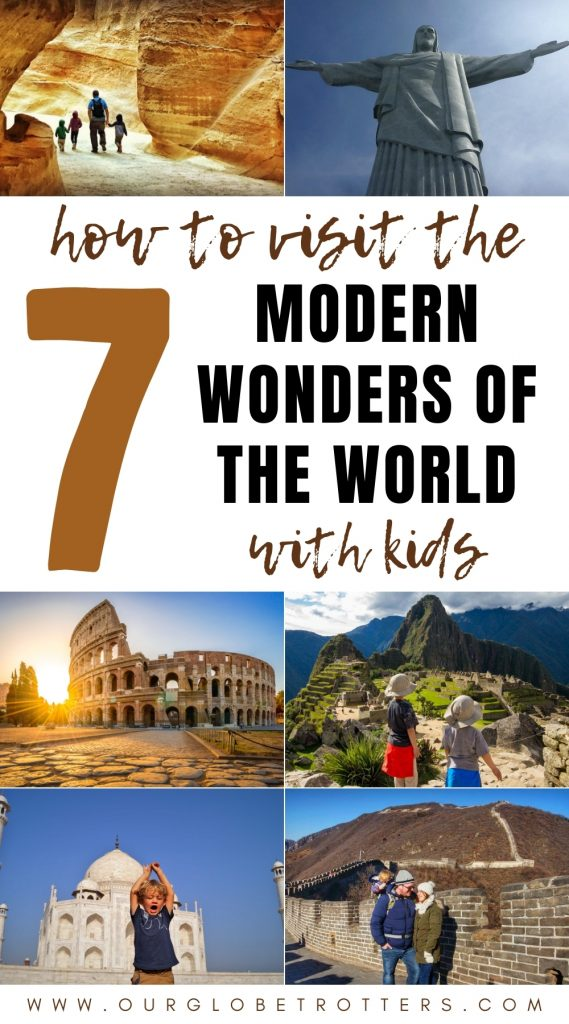 7 Modern Wonders of the World with kids