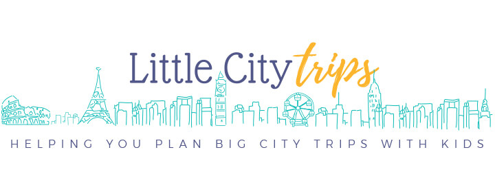 Little City Trips logo - Helping you plan big city trips with your kids