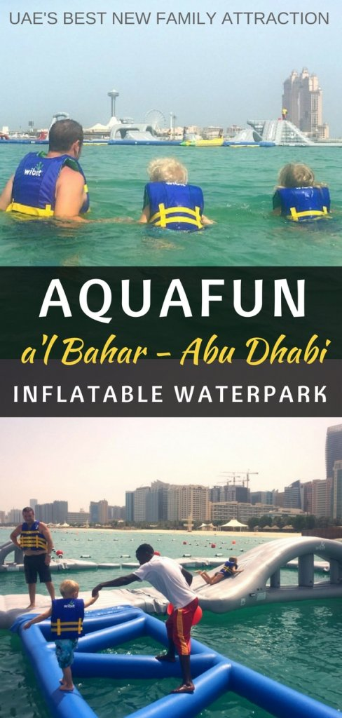 Things to do in Abu Dhabi for families - try the new Aquafun Waterpark