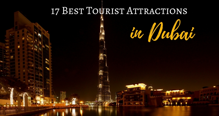 Best Attractions in Dubai, view of Downtown Dubai and the Burj Khalifa