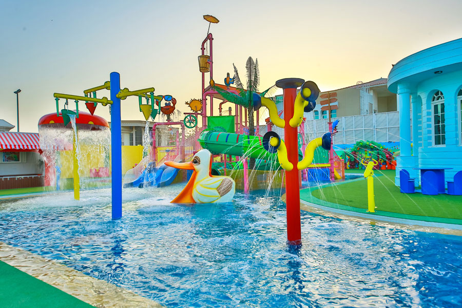 Aquaduck splash party centre in Dubai