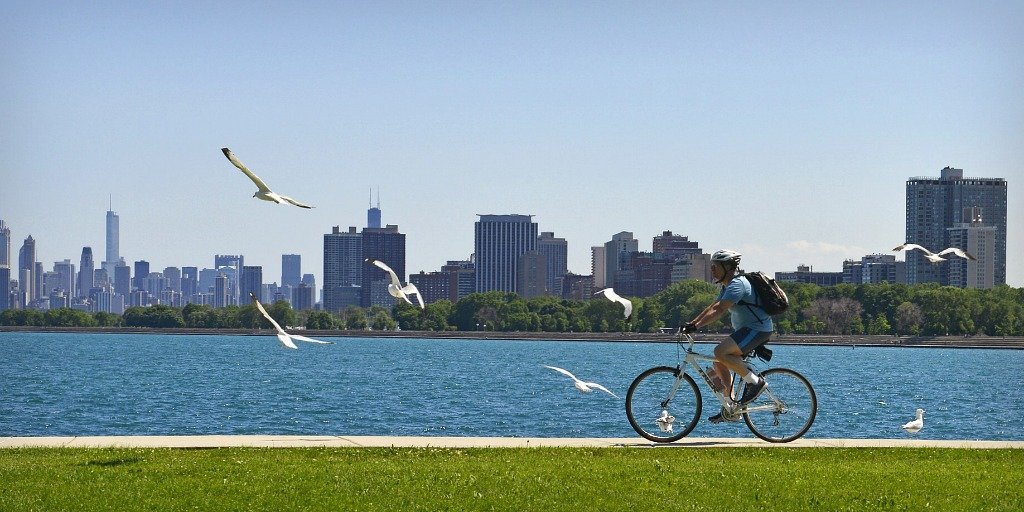 US Best destinations for Bike Riding Chicago