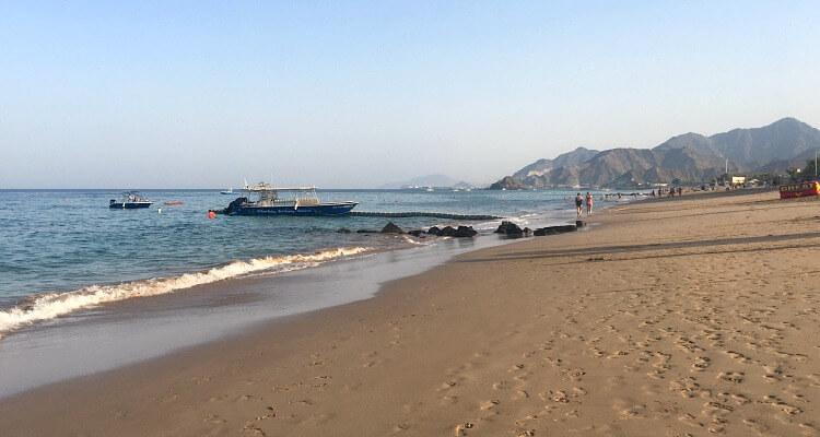Al Aqah Beach