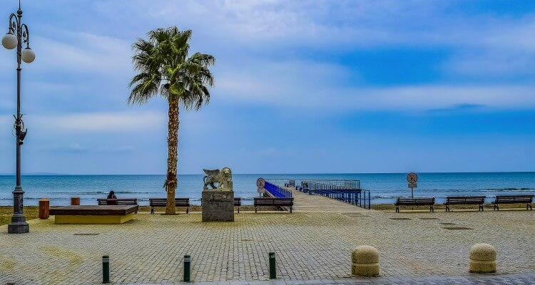 Larnaca Beach Promenade   Best June Eid escapes for Dubai Our Globetrotters