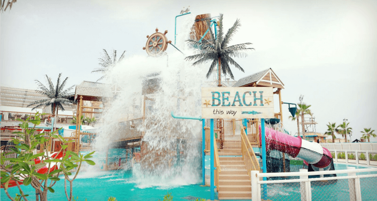 Laguna Water Park at La Mer in Dubai | UAE Best Water Parks a review by Our Globetrotters