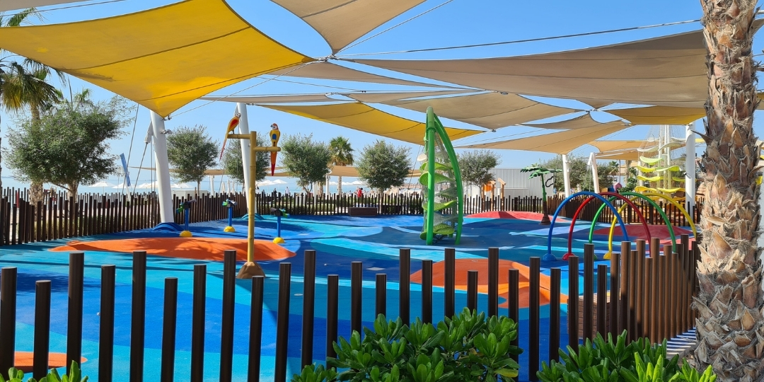 Splash Park at Marsana Saadiyat Island