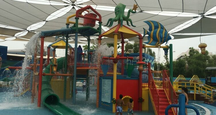 Murjan Splash Park in Abu Dhabi Water structure