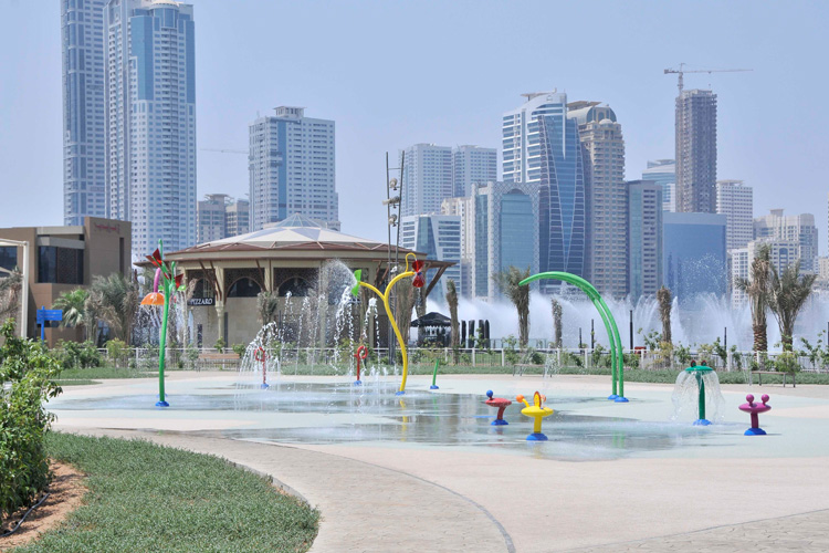 Al Majaz Kids Zone Mini Splash Park