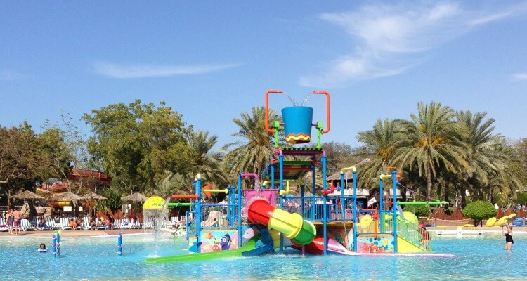 "Dreamland Aqua Park in Umm al Quwain | The UAE""s best Waterparks review by Our Globeteotters"