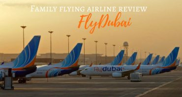 Fly Dubai Review Flying with Kids
