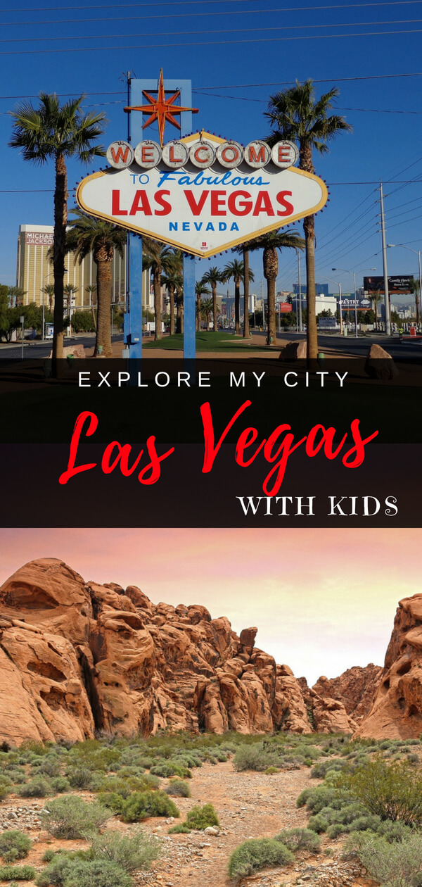 Las Vegas with Kids guide to family things to do with local mom Haley | Explore My City