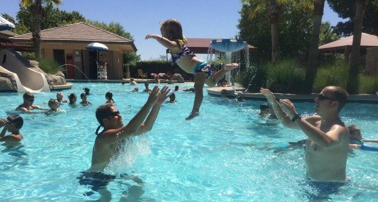 Vegas pool time