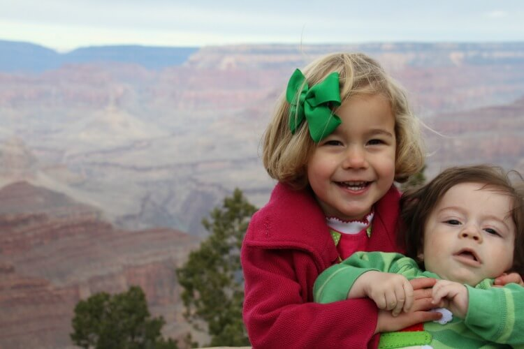 Weekend Trip to the Grand Canyon - Las vegas with Kids