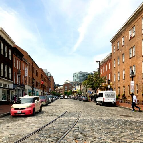 Fells Point Neighbour Baltimore Maryland How to see Baltimore in 24 hours with Kids   Our Globetrotters Explore My City