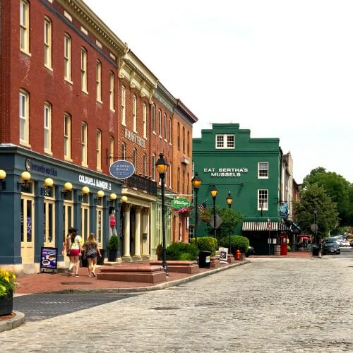 Fells Point Neighbourhood Baltimore   How to see Baltimore in 24 hours with Kids   Our Globetrotters Explore My City