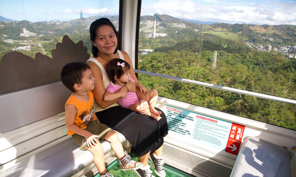 Maokong Gondola Explore My City 24 hours in Taipei with Kids