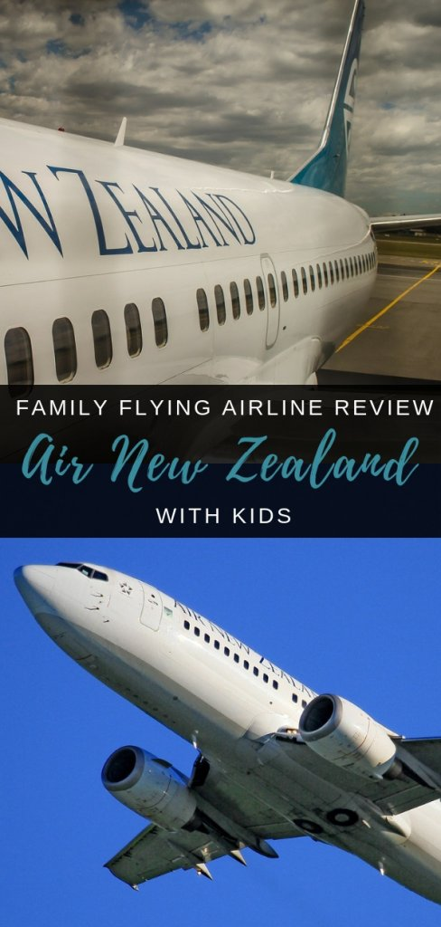 Flying with Air New Zealand as a family - everything you need to know before flying and service to expect flying as a family | Our Globetrotters