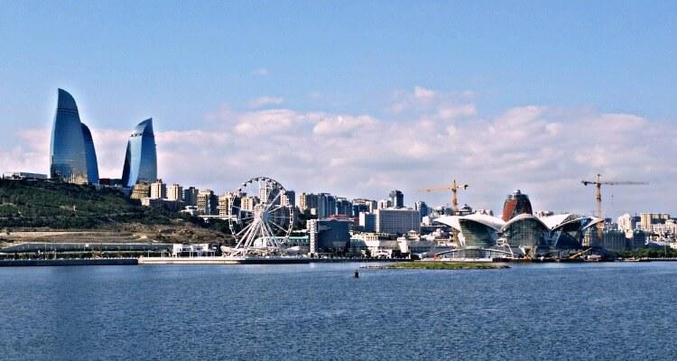 Baku from Maku Bay Great getaway destination from Dubai
