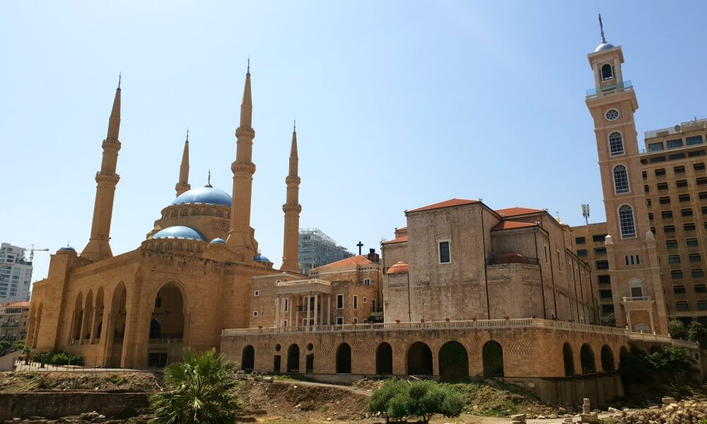 Downtown Beirut for a getaway weekend from the UAE