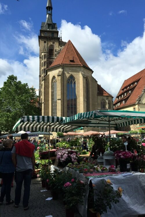 Collegiate Church Stuttgart | How to spend 24 hours in Stuttgart, Germany with Kids | Explore My City Guest Post on Our Globetrotters