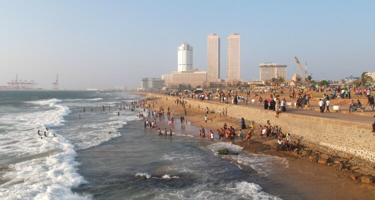 The beachfront at Colombo - a short getaway destination from the UAE | Our Globetrotters