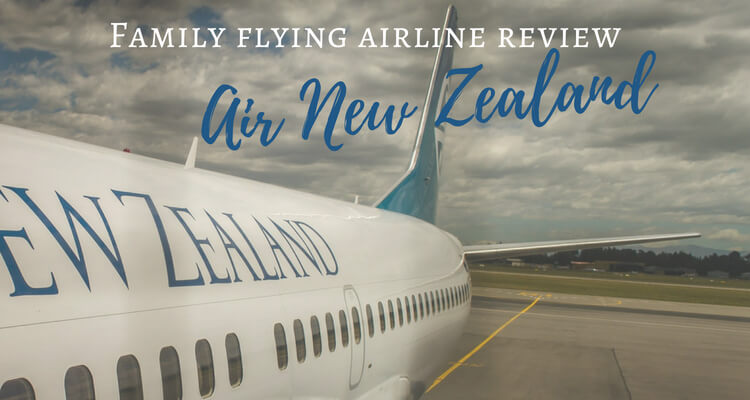 Family Flying Airline review | How does Air New Zealand stack up for families? | Our Globetrotters Flying with Kids