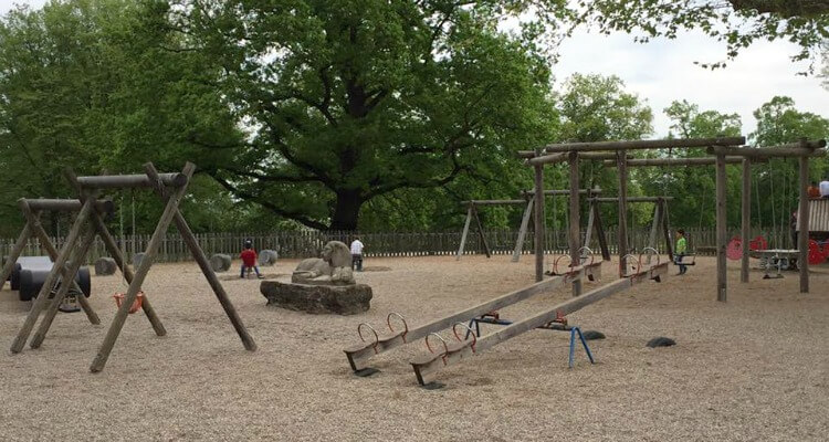 Playground Killesburg Park | How to spend 24 hours in Stuttgart, Germany with Kids | Explore My City Guest Post on Our Globetrotters