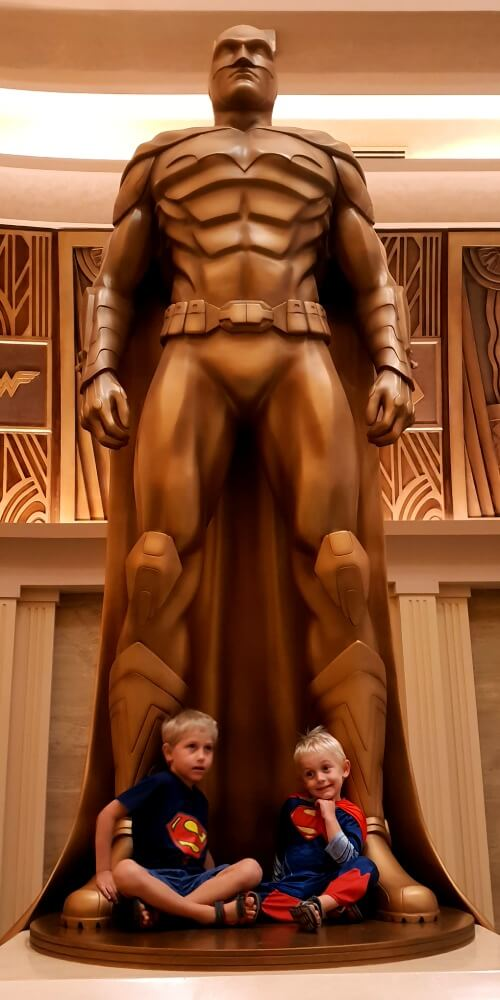 Hall of Fame in Metropolis | WB World Abu Dhabi Family Review
