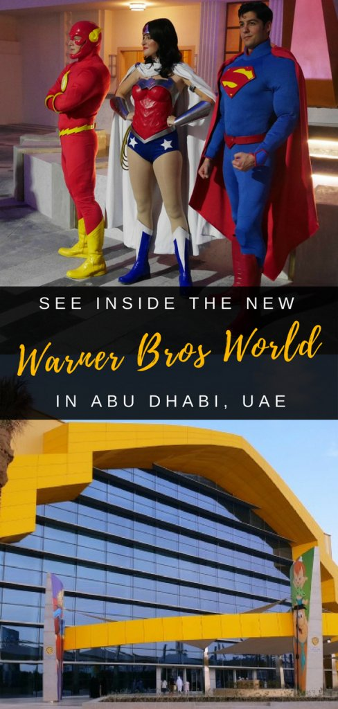 Theme Park fan? Take a look inside the new Warner Bros World on Yas Island, Abu Dhabi in the UAE