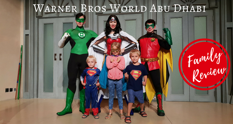 Warner Bros World Abu Dhabi now open!