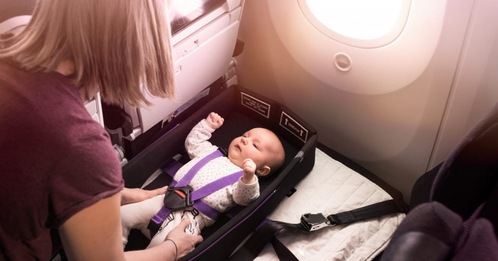 The Air NewZealand SkyCouch Infant Harness