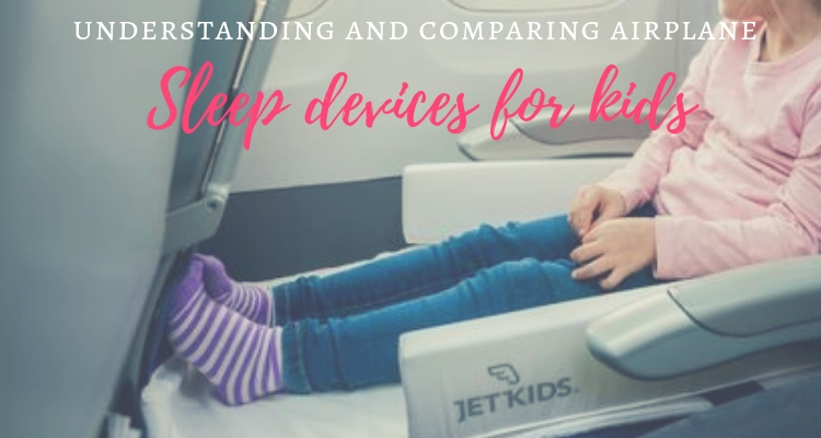 Helping kids to sleep on planes; Are sleep devices allowed by ...