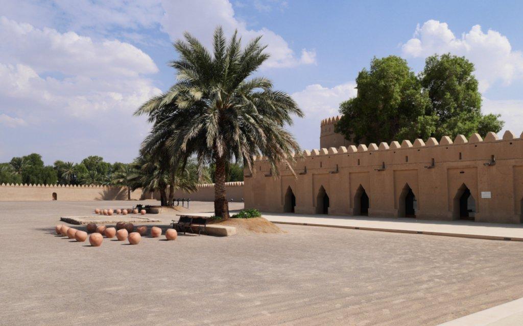 Inside Al Jahili Fort, Al Ain