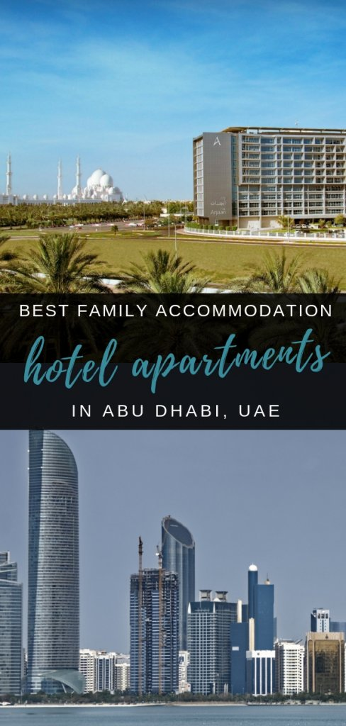 Best Hotel Apartments and serviced accommodation big enough for families in Abu Dhbai, UAE