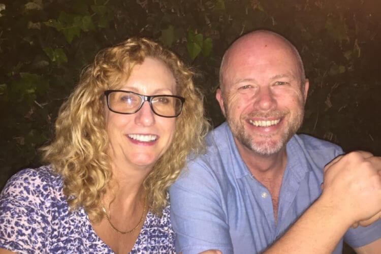 Sean & Julie enjoying expat life now as empty nesters