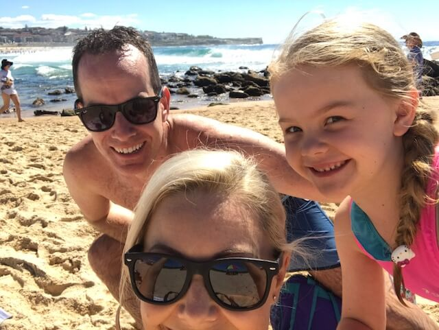 Nicole and Family back in sydney